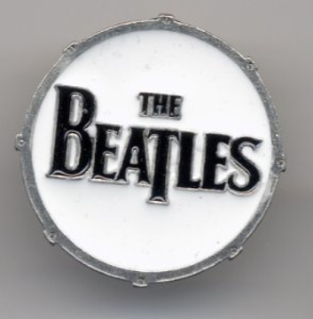 """Picture of Beatles Pins: The Beatles """"Drum"""" small pin"""