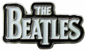 """Picture of Beatles Pins: The Beatles Classic """"Logo"""" X large pin"""