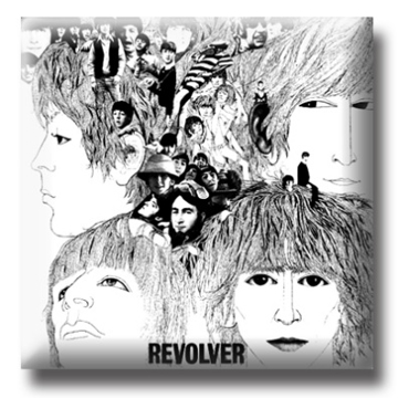 Picture of Beatles Pin: The Beatles Revolver Album flat pin
