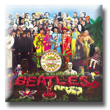 Picture of Beatles Pin: The Beatles Sgt. Peppers Album flat pin