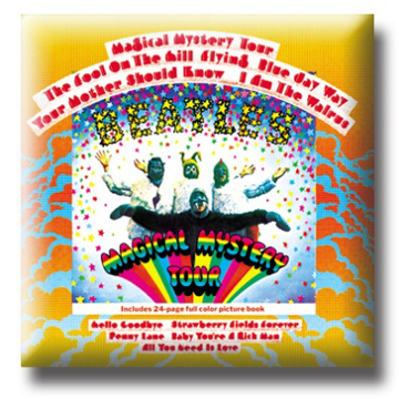 Picture of Beatles Pin: The Beatles Magical Mystery Tour flat pin