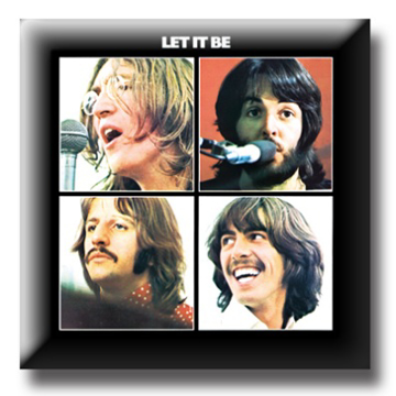 "Picture of Beatles Pin: The Beatles ""Let it Be"" flat pin"