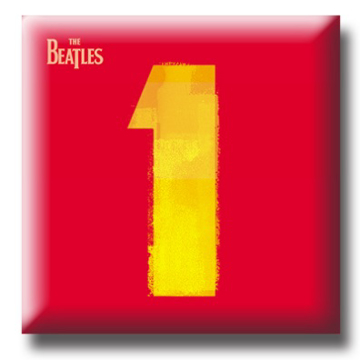 "Picture of Beatles Pin: The Beatles ""1"" flat pin"