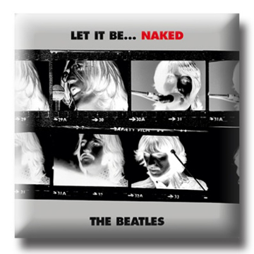 """Picture of Beatles Pin: The Beatles """"Let it Be Naked """" flat pin"""