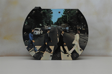 Picture of Beatles Original Record Purse:The Beatles - Abbey Road
