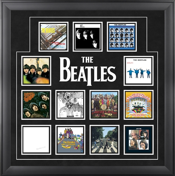 The Beatles Officially Licensed Framed Presentations