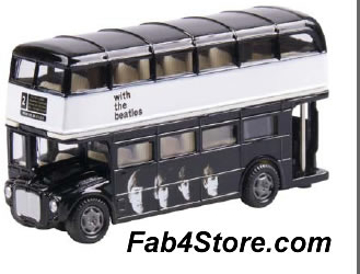 """Picture of Beatles Toy: """"Meet The Beatles"""" Dbl Decker Bus"""