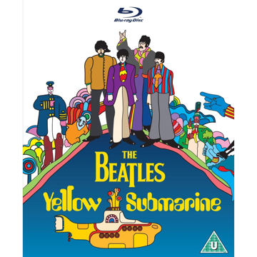 Picture of Beatles DVD: Yellow Submarine DVD[Blu-ray] (1968))