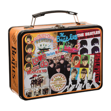 Picture of Beatles Lunch Box: The Beatles Albums Tin