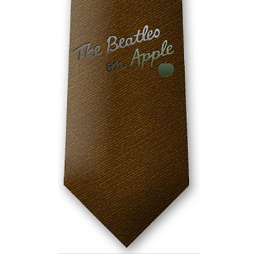 Picture of Beatles Tie: Burnt Amber (NEW)