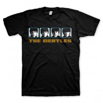 """Picture of Beatles Adult T-Shirt: """"A Hard Day's Night' Panel"""