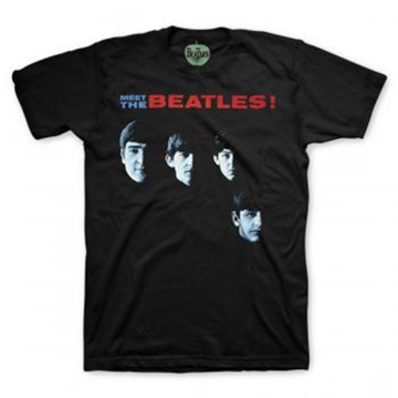 Picture of Beatles Adult T-Shirt: Meet The Beatles