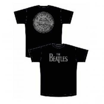 Picture of Beatles T-Shirt: Black Sgt. Pepper Lonely Hearts