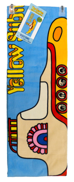 Picture of Beatles Towel: Yellow Submarine on the Beach