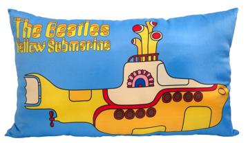 "Picture of Beatles Pillow: The Beatles ""Yellow Submarine"" Deco Pillow"