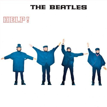"Picture of Beatles Sign:  ""HELP!"" Album Cover"