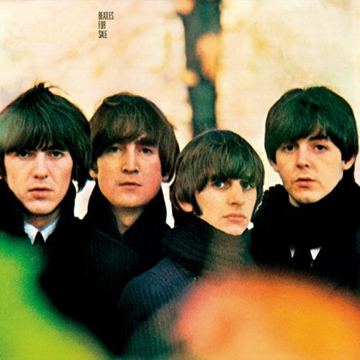 "Picture of Beatles Sign:  ""Beatles For Sale"" Album Cover"