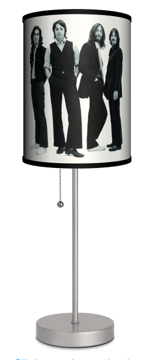 Picture of Beatles Lamp  & Shades: Black & White The End