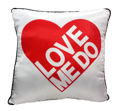 "Picture of Beatles Pillow: The Beatles ""Love Me Do"" Deco Pillow"