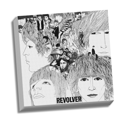 """Picture of Beatles ART: 20""""  X 20""""  The Beatles Revolver Canvas"""